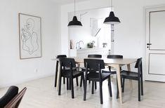 Johanne's lovely Aalborg apartment in monochrome | my scandinavian home | Bloglovin'