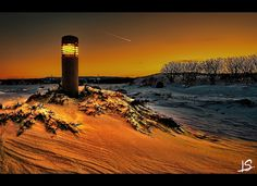 The first light at sunset by Jeff S. PhotoArt, via Flickr