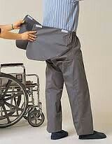 Clothing adaptations for people with disabilities.