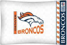 NFL Denver Broncos Micro Fiber Pillow Case Logo  #nfl #superbowl #superbowl2014 #denverbroncos #seattleseahawks