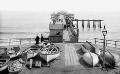 Walton-on-the-Naze, the Pier 1891 Essex Coast, Walton On The Naze, Beach Huts, My Childhood Memories, Yesterday And Today, Wisteria, Old Photos, Liverpool, Graham