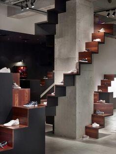 Retail Design | Footware | Store Design | Shop Interiors | Puma House / nendo