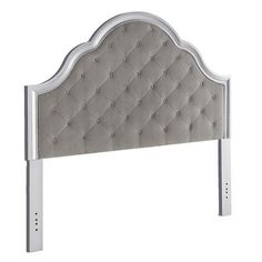 As glamorous as any star from Hollywood's Golden Era, yet as practical as we can make it, our Hayworth Bella Upholstered Headboard is ready for its close-up. Marquee qualities: Soft velvet upholstery, diamond-seamed button tufting and a dependable, hardwood frame. And that's just a preview. Once you get it home and in place, it could become the main attraction.