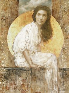 Risultato immagini per François Fressinier Figure Painting, Painting & Drawing, Figurative Kunst, Beauty In Art, Klimt, William Morris, Portrait Art, Medium Art, Female Art