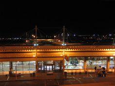 Terminal at Night Birmingham-Shuttlesworth International Airport