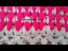 Two-color ribs (columns) of cr Baby Knitting, Crochet Baby, Piercings, Knitted Baby Clothes, Knitting Videos, Moda Emo, My Style, Youtube, Crafts