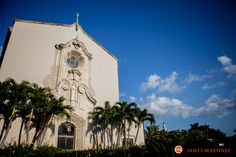 Wedding Church of the Little Flower Coral Gables