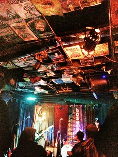 Great small place to hear great local music