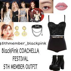 Pll Outfits, Kpop Fashion Outfits, Fashion Idol, Blackpink Fashion, Stage Outfits, Mode Outfits, Dance Outfits, Polyvore Outfits, Outfits For Teens