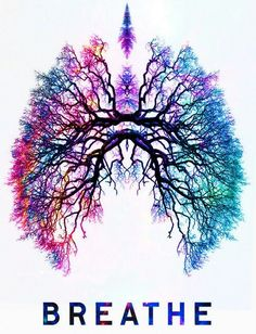 Lungs, breath, inhaling, exhaling... These are life sustaining. This picture is beautiful to me.