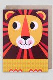 Ingela P Arrhenius card - Lion Lagom Design, Wild Lion, Animal Symbolism, Cute Characters, Crafty Projects, Cool Cards, Cool Artwork, Print Patterns, New Baby Products