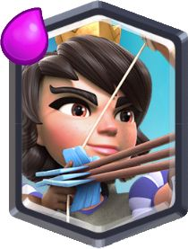 """This stunning Princess shoots flaming arrows from long range. If you're feeling warm feelings..."