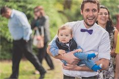 I have to write a blog post on guys with babies that I see during weddings - so cute!!! Gpix.com.au - guests adelaide botanic gardens baby tux happiness weddings