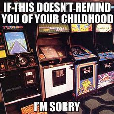 I might not have lived in the But the arcade is still one of my fond memories. School Memories, My Childhood Memories, Childhood Toys, Best Memories, Retro Arcade Games, My Generation, 90s Nostalgia, 80s Kids, I Remember When