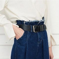 Great belt game right there! Look out for 80's belts this new season | Styling Tips | The Lifestyle Edit