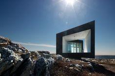 Lavorare guardando l'oceano ecco il Long Studio a Fogo Island