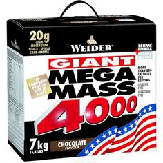 Weider Nutrition Mega Mass 4000 Strawberry 7000 g