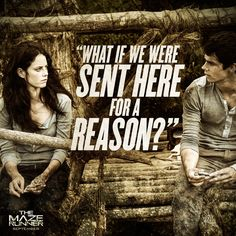 Maze Runner Quotes | The Maze Runner Movie Quote