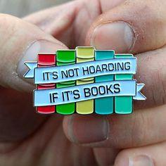 #Reading Lapel Pin #LiteraryGifts WritersRelief.com