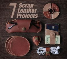 Picture of 7 Scrap Leather Projects