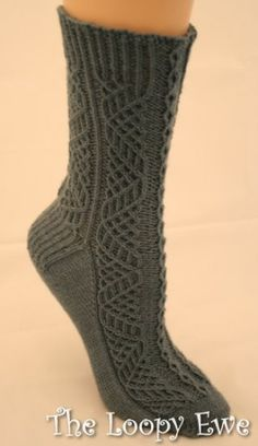 Highland Fling Socks in Wendy Knits from Wendy Knits at The Loopy Ewe ($5.00)