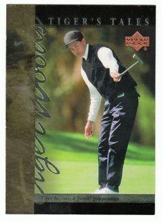 Tiger Woods # TT-1 - 2001 Upper Deck Golf Tiger's Tales