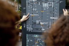 NYC's New Maps Orient You Like A GPS