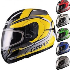 GMax GM44S Modular Glacier Mens Sled Cold Weather Protection Snowmobile Helmet