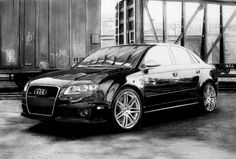 Audi RS4. A3 size, with pencils, markers