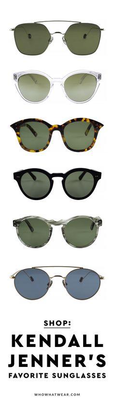 Kendall Jenner LOVES Ahlem sunglasses