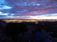 """the view from """"Horsetooth Rock"""" right outside Fort Collins, CO"""