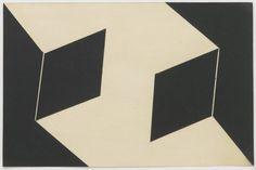 Lygia Clark Espaço Modulado, 1957 Collage of card, framed Paper size: 20 x 30.8 cm / 7 7/8 x 12 1/8 ins Framed: 52.4 x 63.2 cm / 20 5/8 x 24 7/8 ins http://www.alisonjacquesgallery.com