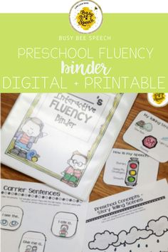This is the perfect addition to your SLP Toolkit for all your Fluency needs! Just print and go! No prep needed!