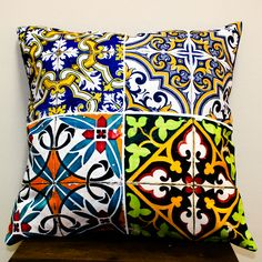 Azulejo - Mix Tecido: Oxford Enchimento: Manta Acrílica
