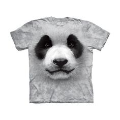 Big Face Panda T-Shirt, 19€, now featured on Fab. I <3 It