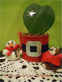 Christmas DIY Could use old formula cans