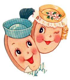 cookie couple.  Imagimeri