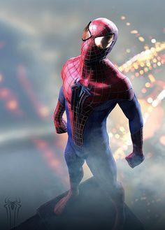 Amazing Spider-Man by Hussain Khan *