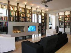 wohnung led ambientebeleuchtung wohnzimmer hochglanz   Modernes ...