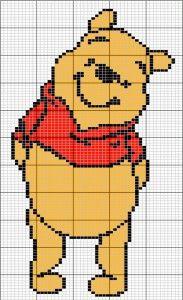 winnie the pooh knitting chart - Google Search
