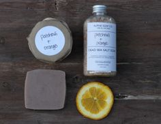 Natural Patchouli + Orange Collection - All Natural Skin Care