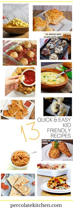 If you're struggling to find meals your picky eaters will eat and enjoy, then look no further! I've compiled this awesome list from some great food bloggers, packed full of yummy, easy, quick meals that are sure to get even the stubbornest of eaters cleaning their plates. Click through and save!