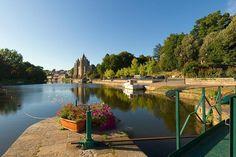 Canal de Nantes à Brest, Josselin (56) - Foto por © PLANETE 360