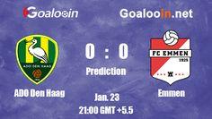 ADO Den Haag 0-0 Emmen