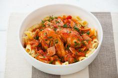 Countdown - RECIPES - Recipe Cacciatore Recipes, Chicken Cacciatore, Penne Recipes, Chicken Recipes, Recipe Chicken, Food Plus, Chicken Pasta, Penne Pasta, Cheap Dinners