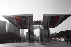 #olympicpark #seoul #subwayline8 #seoulgraphers #partialcolor #art14 #olympusomd