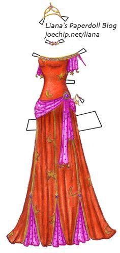 Disney Princess Esmeralda | disney-princess-esmeralda-red-dancing-dress-jewels-series-liana-remix ...