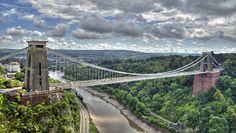 Puente colgante de Clifton, Clifton, Bristol, Inglaterra | 33 puentes impresionantes que tienes que cruzar en tu vida