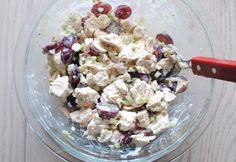 Mix ingredients with yogurt