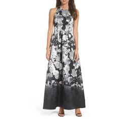 New offer for ALFRED SUNG Floral Sateen Gown fashion online. [$226]?@@>>sladress shop<<